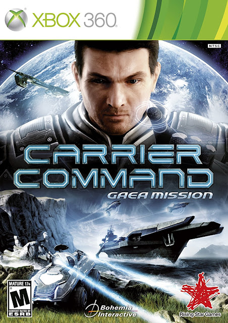 Carrier Command Gaea Mission - Xbox 360 - Multi2 - Portada