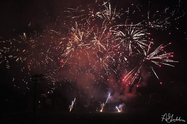 Big Fireworks show!