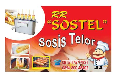 Contoh Desain Spanduk Sosis Telor atau SOSTEL Keren Format ...