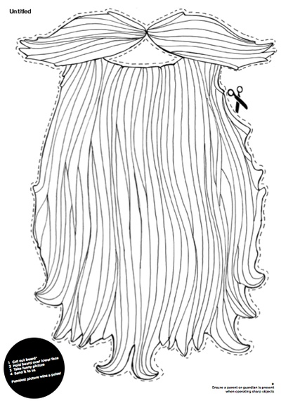 beard coloring pages   From The Heart Up.: Wonderful Whimsical Christmas FREE ...