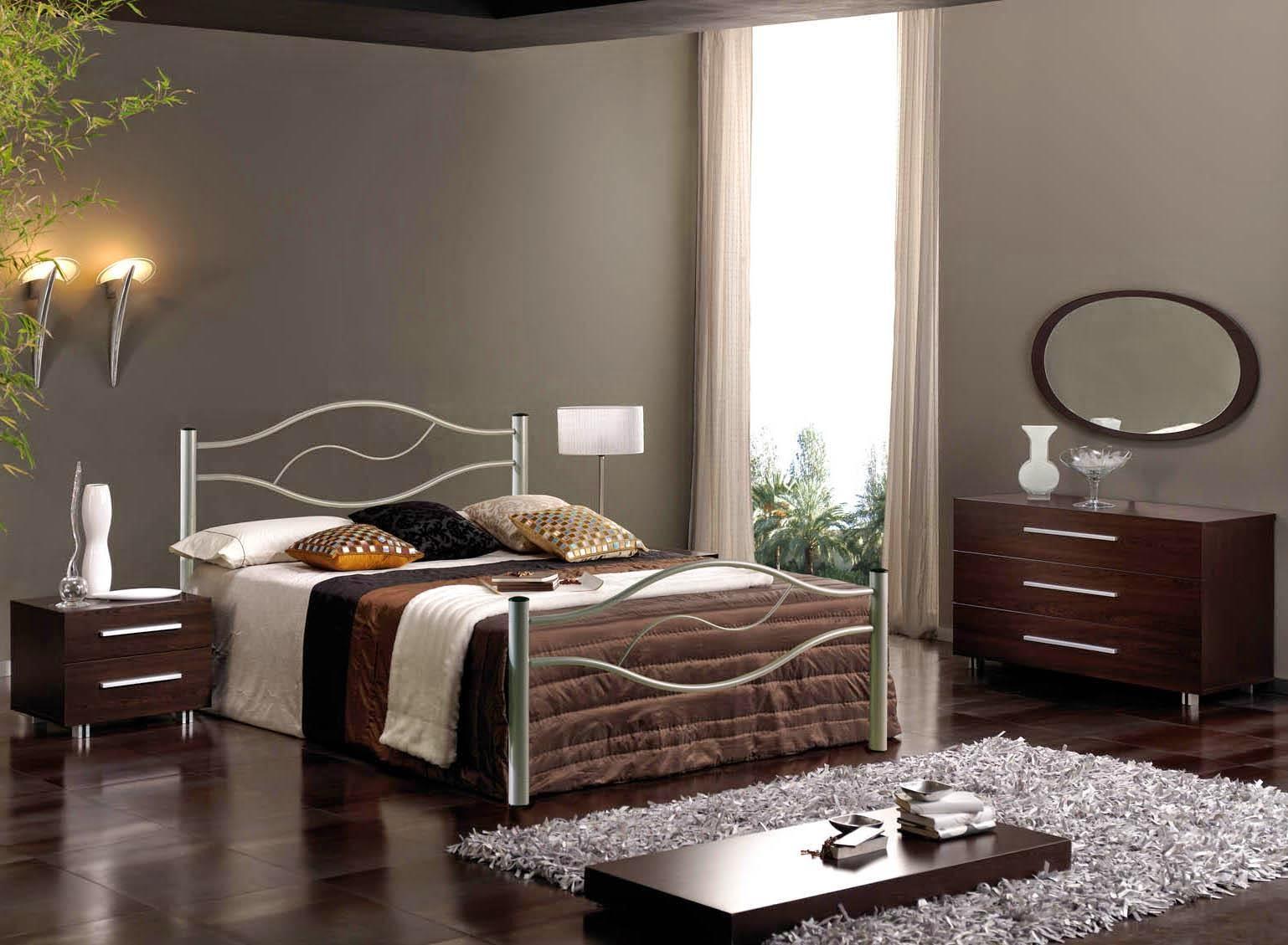 desain kamar tidur pasutri minimalis | wallpaper dinding