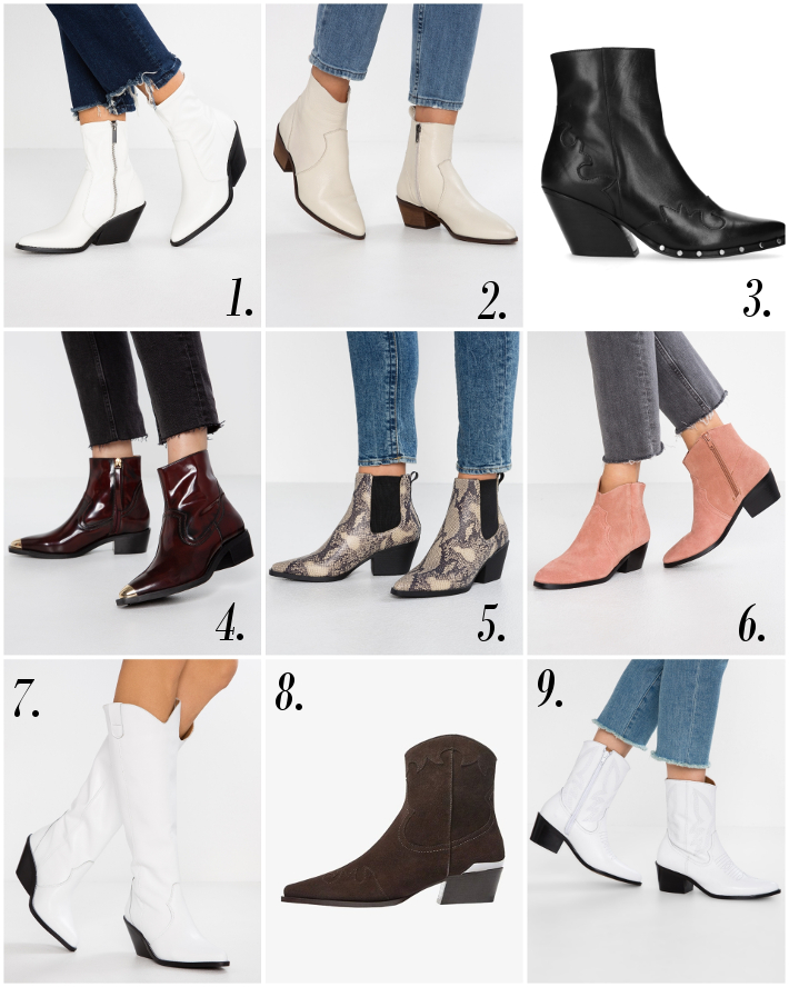 Wishlist: the coolest Western boots