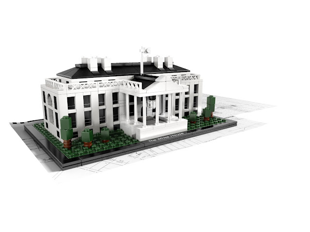 LEGO Architecture White House
