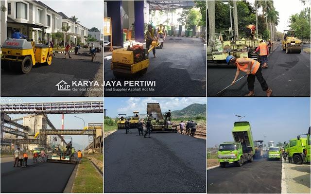 Kontraktor Pengaspalan Hotmix Jakarta Bogor Bandung Jawa barat