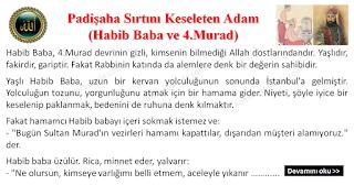 Padişaha Sırtını Keseleten Adam - Habib Baba ve 4.Murad