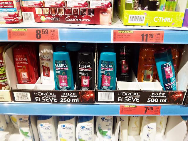 Elseve - Szampon i odżywka do włosów, Biedronka promocje