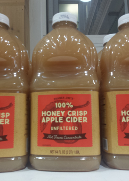 Trader Joe's 100% Honey Crisp Apple Cider