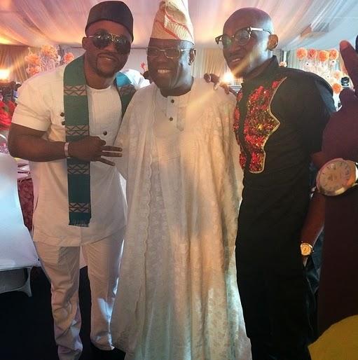 Photos: Peter & Jude Okoye, Dbanj, Iyanya, Julius Agwu