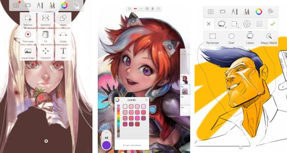 Appli Pour Dessiner Sur Les Photos 5 meilleures applications android gratuites pour dessiner, esquisser