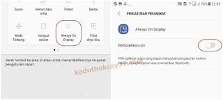Cara Instal dan Mengaktifkan Always on Display di Samsung J7 Core