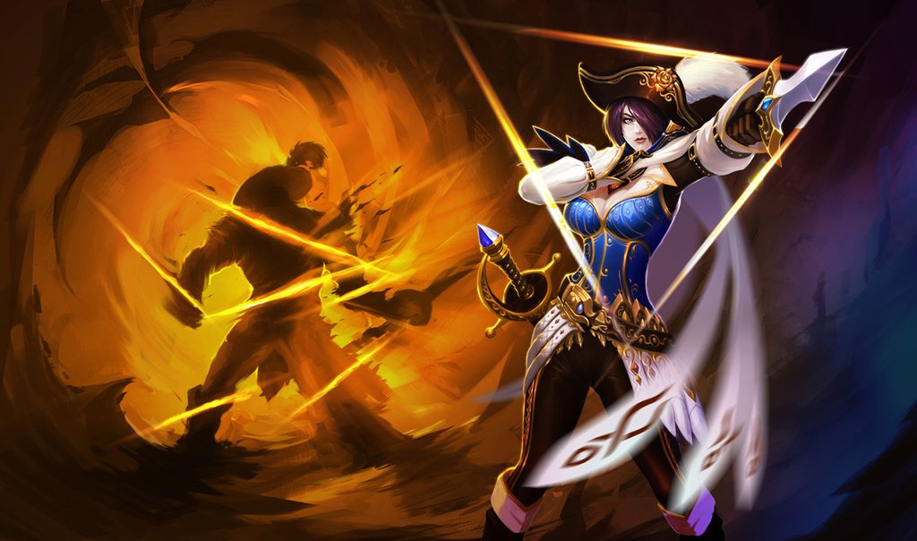 Chinese Royal Guard Fiora Skin