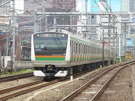 湘南新宿ライン 新宿経由 快速 宇都宮行き2 E233系