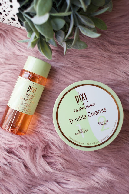Pixi, Pixi beauty, Glow tonic, Caroline Hirons double cleanse, Bbloggers, beauty, Blogger