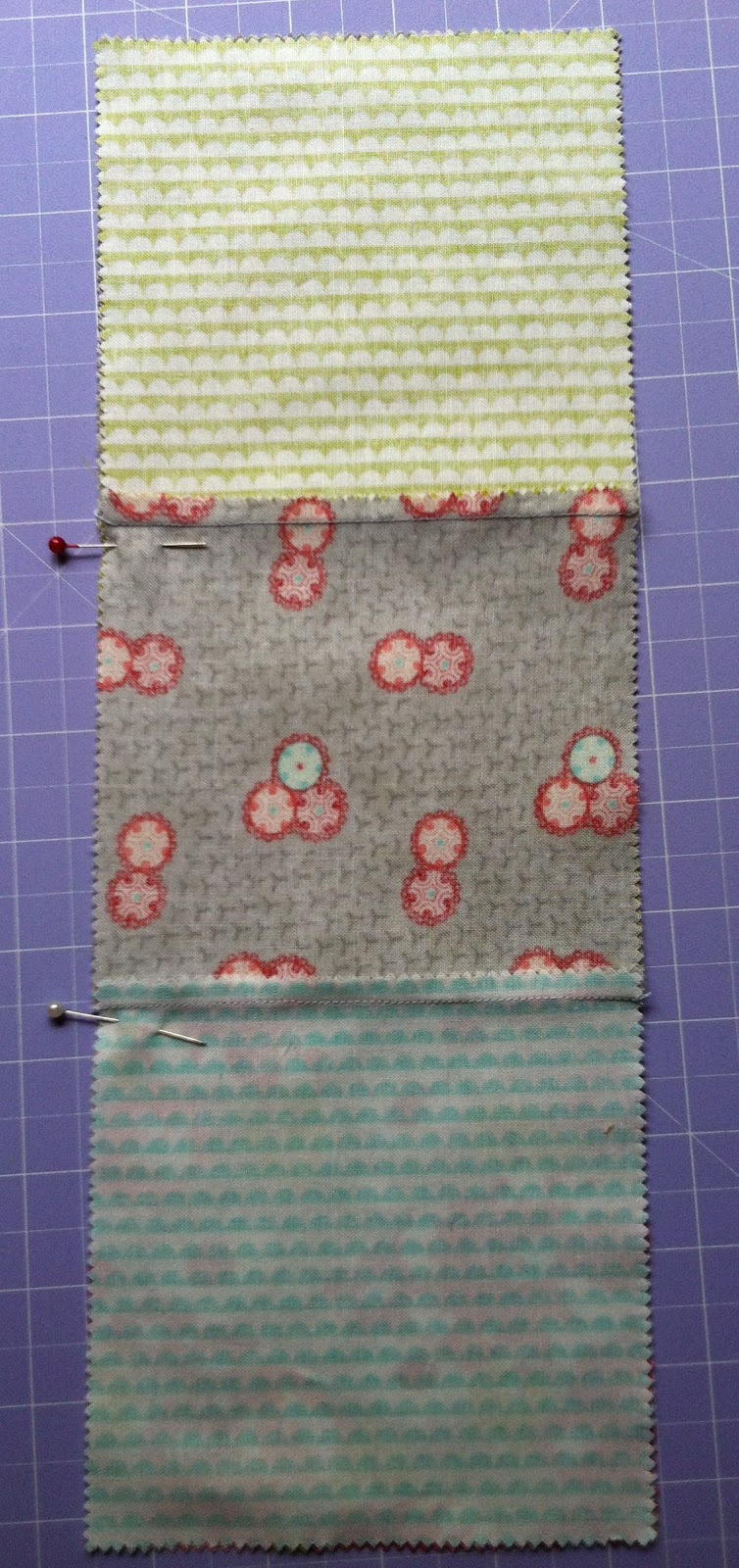 The Peony Teacup Tutorial Easy Disappearing 9 Patch Table Runner