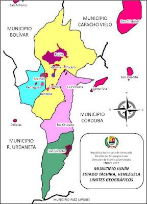 PDUL RUBIO MUNICIPIO JUNN Municipio Junin Lmites geogrficos