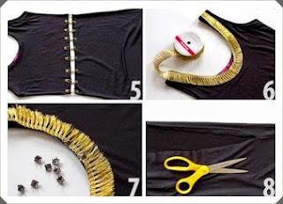 Sade Elbiseyi Abiye Kıyafete Çevirme Yapımı, Resimli Açıklamalı  2