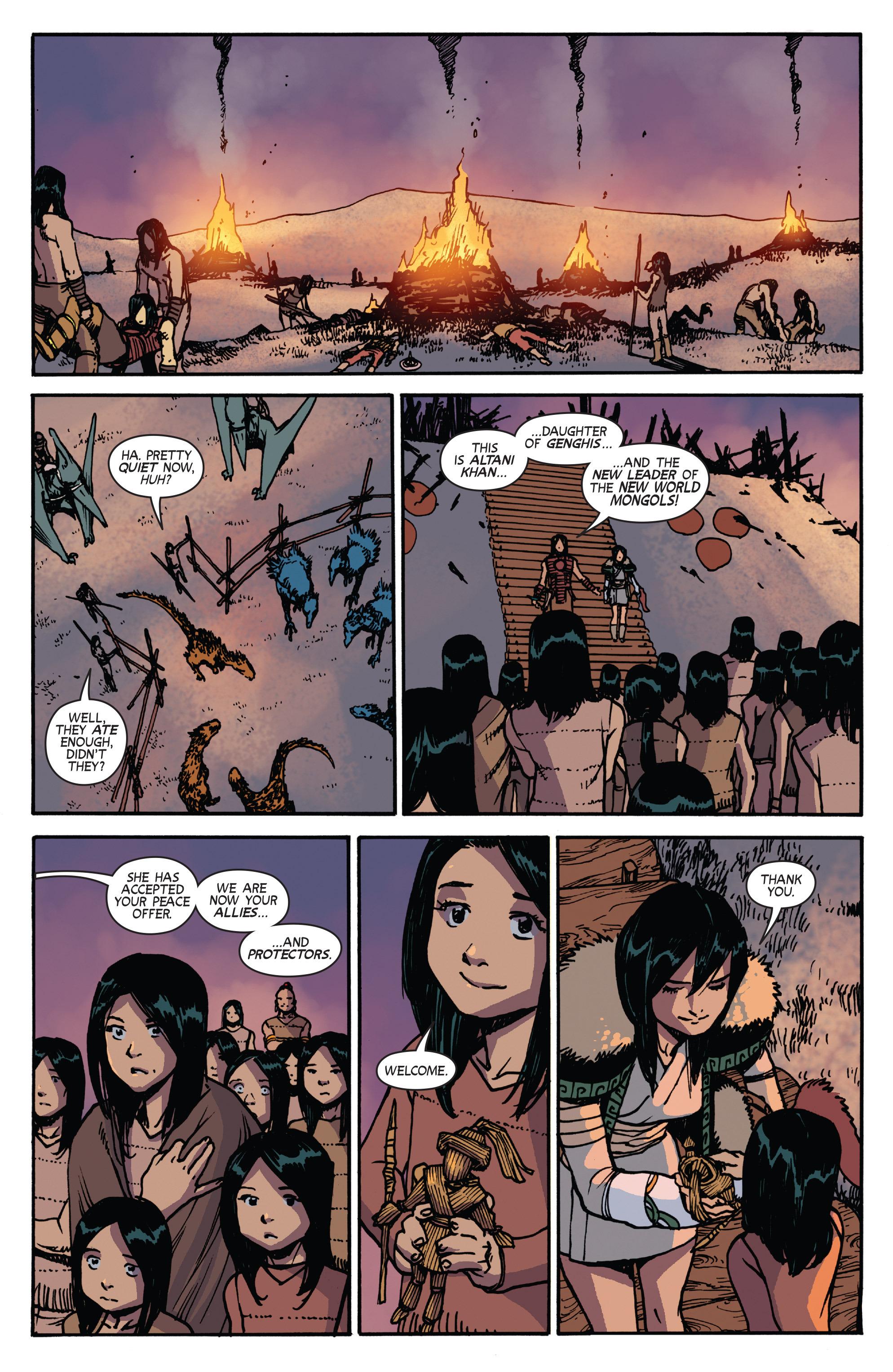 Read online Turok: Dinosaur Hunter (2014) comic -  Issue # _TPB 2 - 83