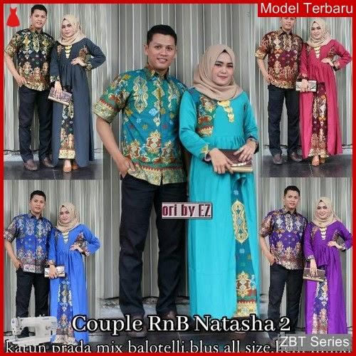 ZBT04609 Kebaya Batik Couple Natasha Etnik Hijab BMGShop