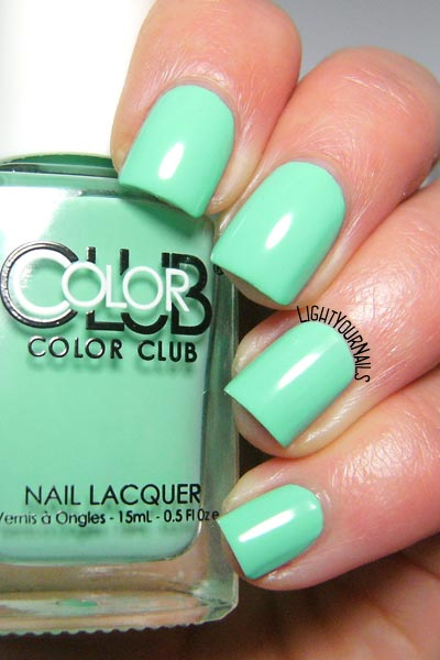 Smalto Color Club Age of Aquarius nail polish