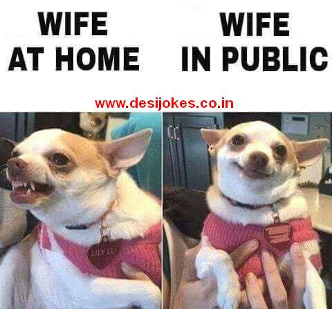 Wife at Home vs Wife in Public
