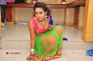 Telugu Dancer Nisha  Pictures at Babu Bangaram Audio Launch  0243