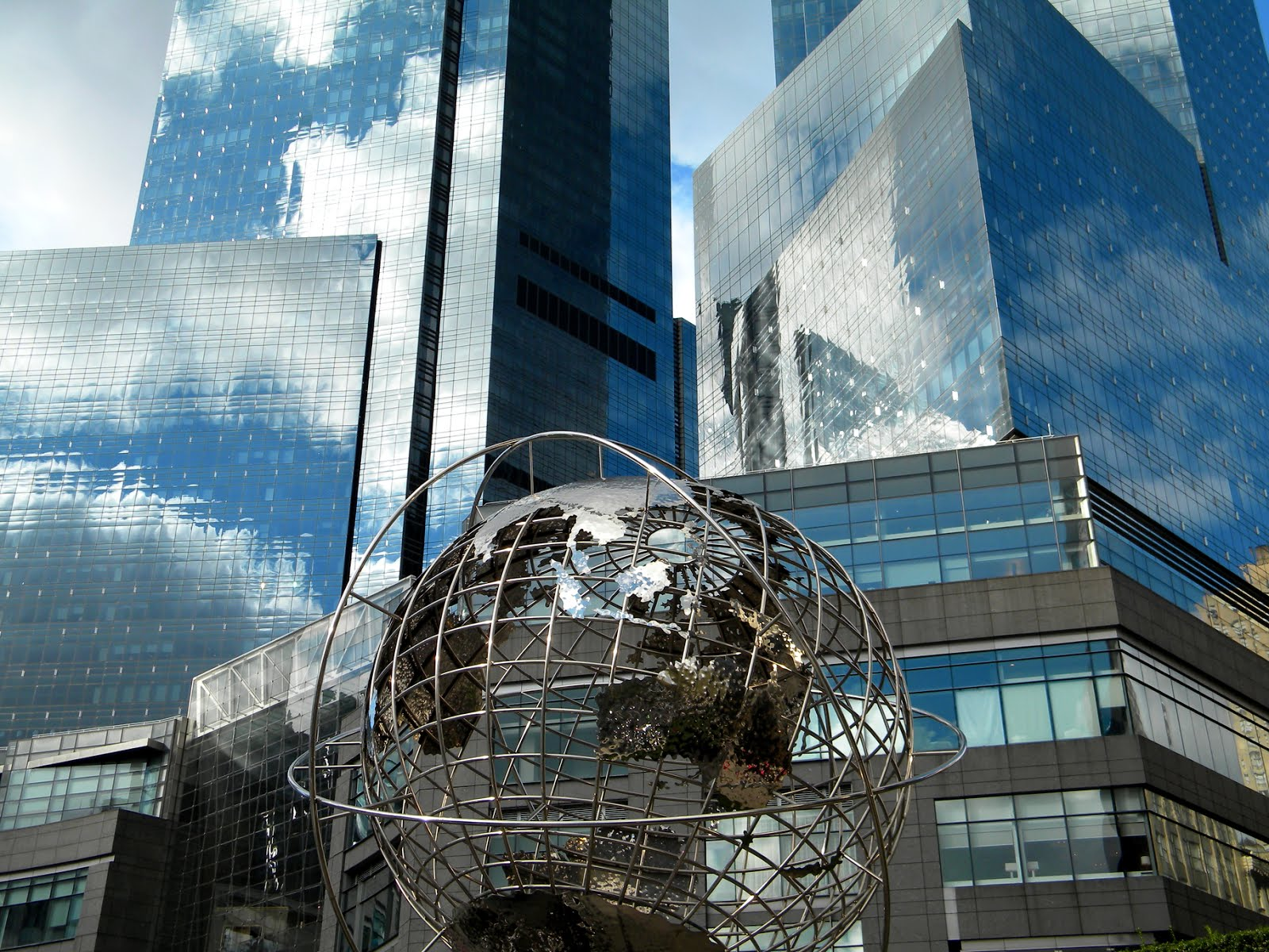 Time Warner Center Blue Sky