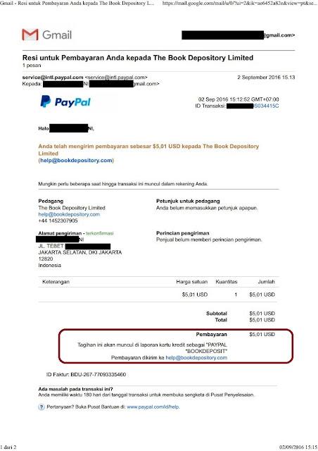 Transaksi PayPal Dengan Kartu Debit Permata