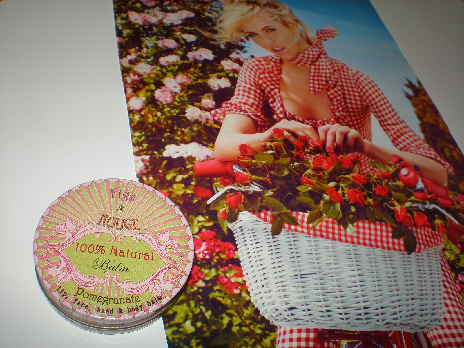 FIGS & ROUGE  100% Natural Pomegranate Balm