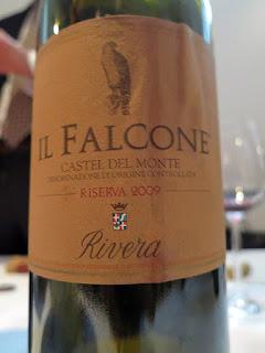 Rivera Il Falcone Riserva Castel del Monte 2009 - DOC, Puglia, Italy (90+ pts)