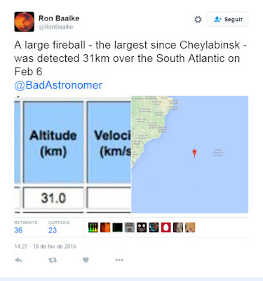 bola de fogo sobre o oceano atlantico