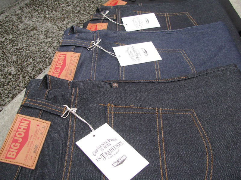 3f973859 Straight from Japan, we now have all four models back in stock in all sizes.  With so much experience in the industry Big John is one of the best denim  ...