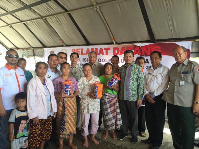 Aleg PKS Dapil Sumut 2 Ini Kunjungi dan Santuni Korban Banjir Bandang Tapanuli Tengah