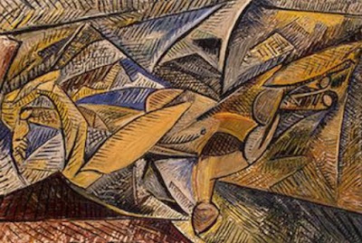 """Lukisan """"The Dance of the Veils"""" oleh Pablo Picasso"""