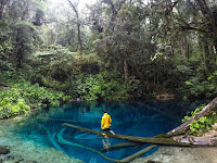 Birunya Wisata Air Danau Kaco Jambi