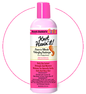 Aunt Jackie's GIRLS Leave-In Detangling Moisturizer