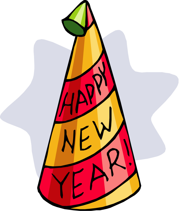 new year hat clipart - photo #2