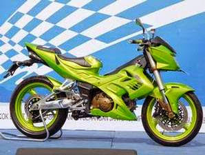 Gambar Modifikasi Motor Suzuki Shogun 125