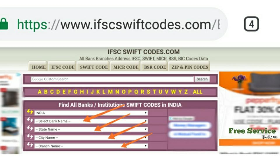sbi-swift-code-ranchi