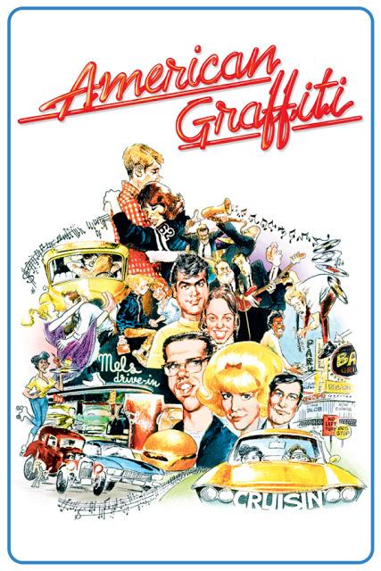 Póster original película American Graffiti