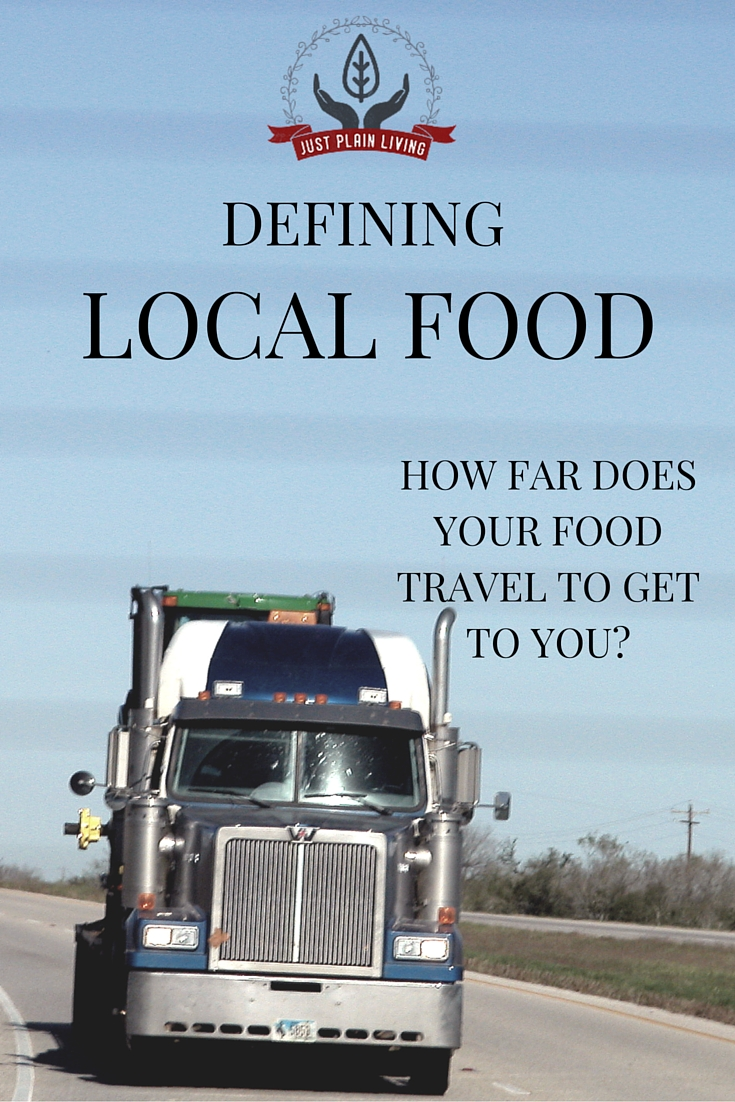 The average meal travels an incredible 1500 miles. How far does your food travel to get to you?