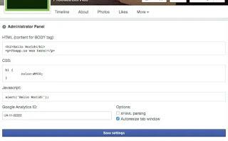 Editor Facebook
