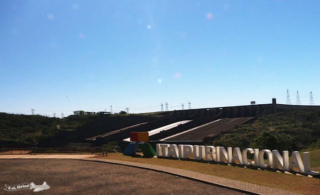 Vertedouro da Itaipu Binacional