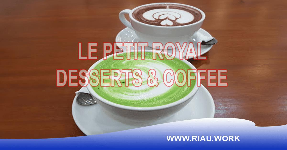 Lowongan Le Petit Royal Pekanbaru Oktober 2017