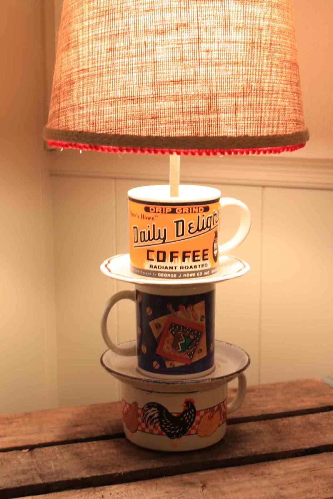 Coffee Cup Lamp