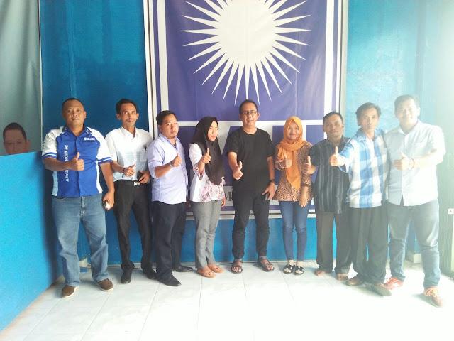 H.Novaldo Alqudsi,SE : Kader Partai PAN PALI Wajib Menangkan HD - MY