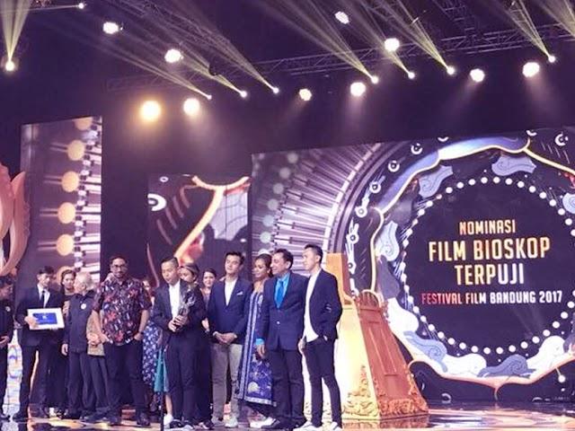 Inilah Daftar Lengkap Pemenang Festival Film Bandung 2017