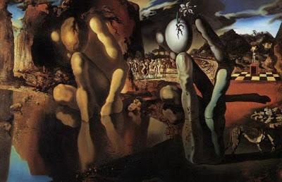 La Metamorfosis de Narciso de Salvador Dalí con el ajedrez como protagonista
