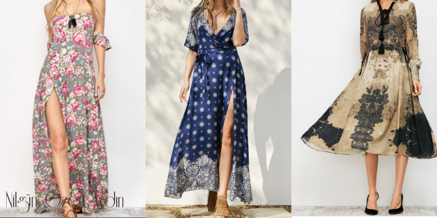 alışveriş-boho dresses-dress boho-vintage