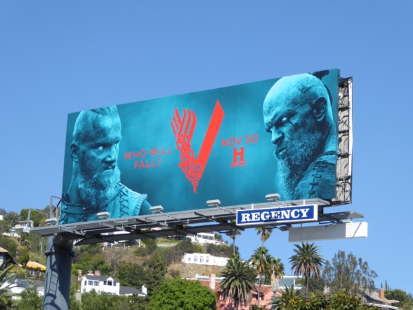 Vikings season 4 Part 2 billboard