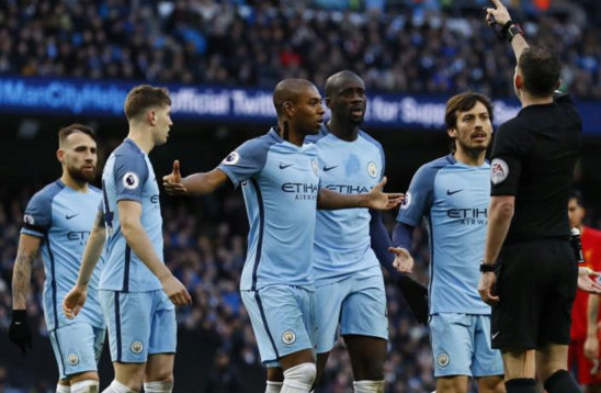 man city fined protest draw liverpool